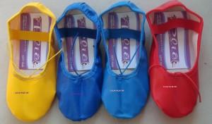 Sapatilhas coloridas