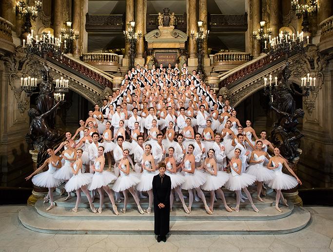 Ballet Opera de Paris foto oficial