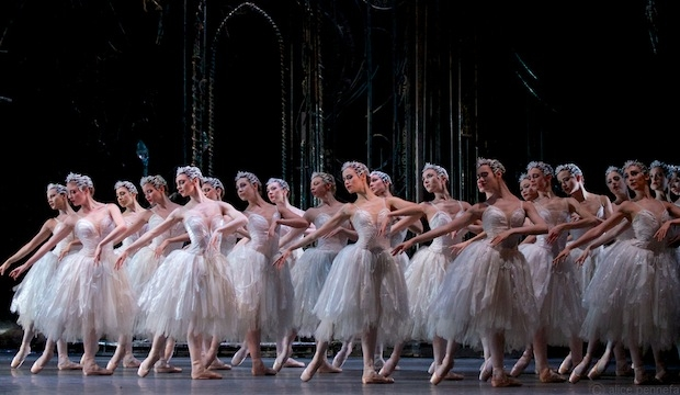 Royal Ballet in Swan Lake. Ph.: Alice Pennefather
