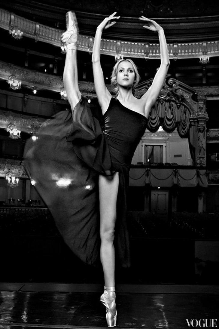 Alina Somova, , Mariinsky Ballet of Saint Petersburg, Russia. Ph.: Vogue