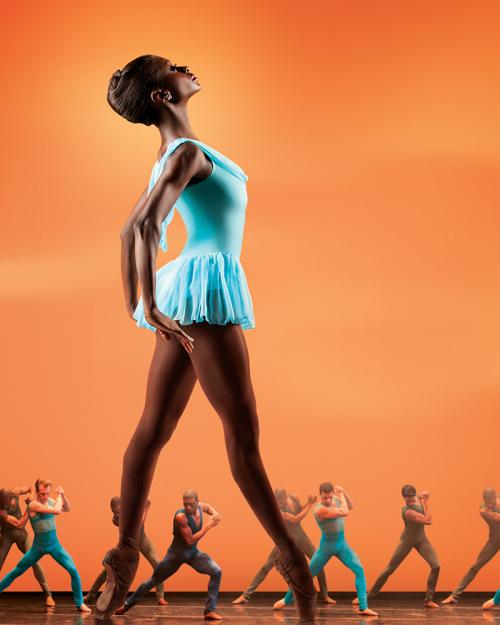 img2enelle Figgins, em Gloria, Dance Theatre of Harlem. Foto: Matthew Murphy.